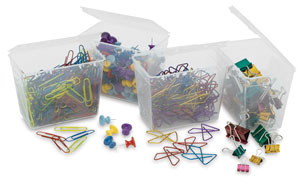 Jumbo Pack of Clips and Pins