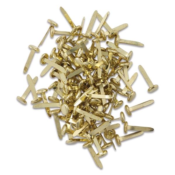 Round Head Paper Fasteners, Pkg of 100