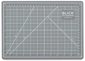 Cutting Mat, Gray and Black (side one)