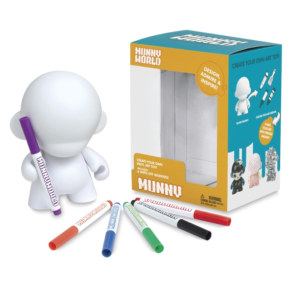Reusable MUNNY with 6 Wipe-Off Markers