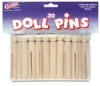 Doll Pins, Pkg of 30