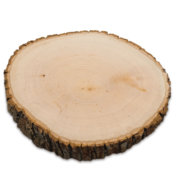 Basswood Shape, Round