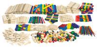 Creativity Street Wood Crafts Classroom Activities Box
