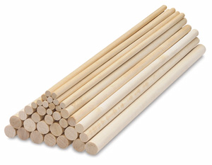 creativity street wooden dowel rods blick art materials