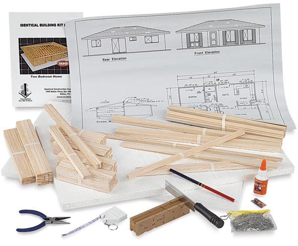 Midwest Products House Structure Kits Blick Art Materials
