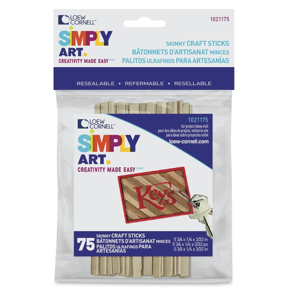 Simply Art Skinny Sticks, pkg of 75