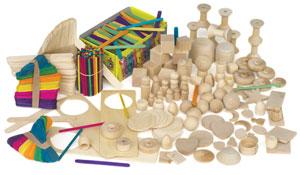 Hygloss Wood Treasure Box