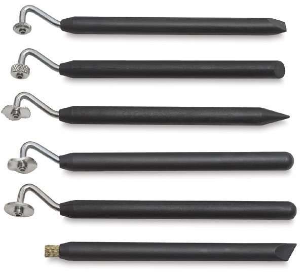 Texture Tool Set of 6