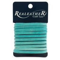Latigo Leather Lace, Turquoise
