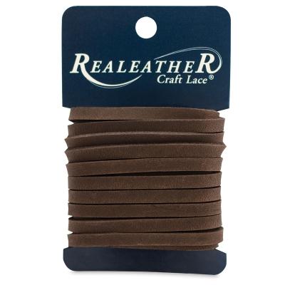 Latigo Leather Lace, Chocolate