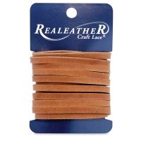 Latigo Leather Lace, Toffee