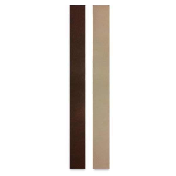 Leather Bracelet Blanks, Pkg of 2,<br/>Natural and Tan