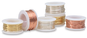 Colored Wire, 24 Gauge, Pkg of 6