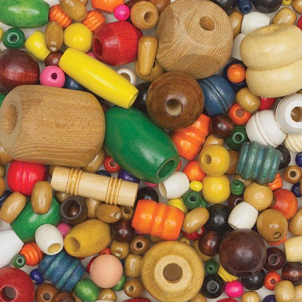 Wooden Bead Assortment