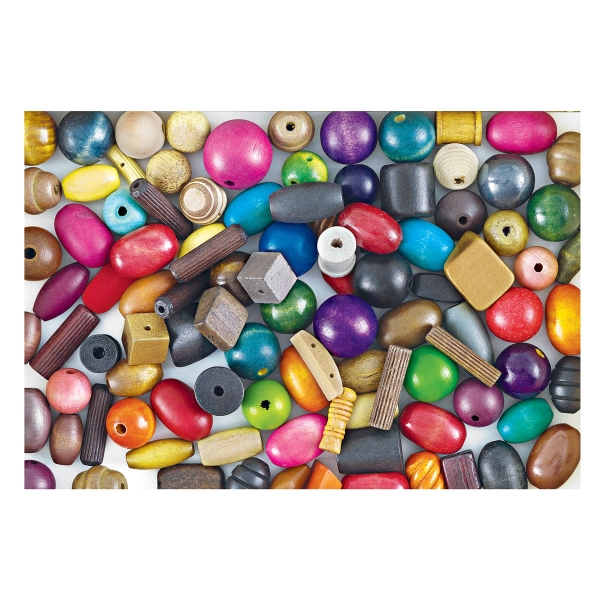 Assorted Macramé Beads (Assortment may vary)