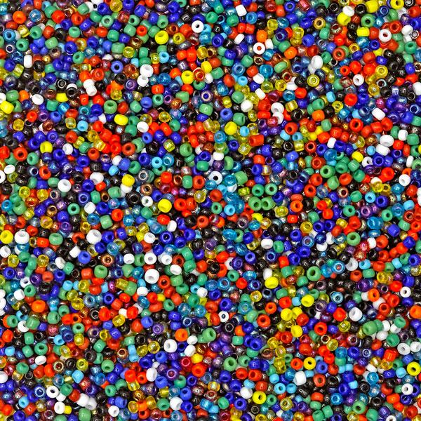 Multi Indian Seed Beads