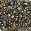 Assorted Metallized Beads