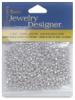 Silver Metallic Seed Beads