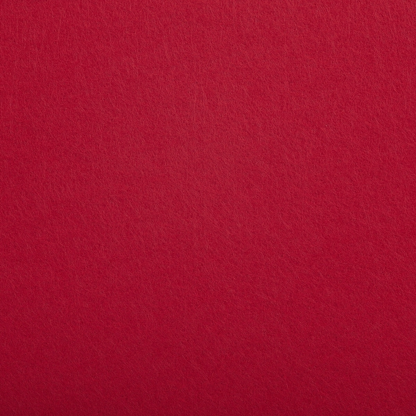 Premium Felt, Red