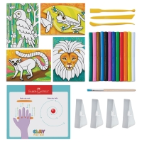 Coloring with Clay Kit