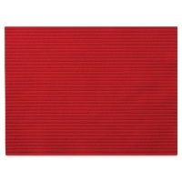 Corduroy Felt, Red