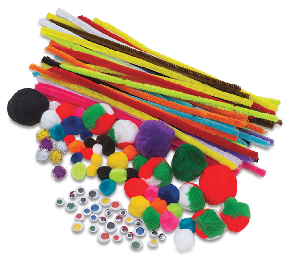Creativity street craft pack blick art materials for Any craft item with waste material