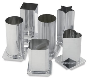 Metal Candle Molds
