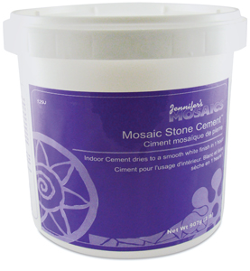 Mosaic Stone Indoor Cement, 2 lb