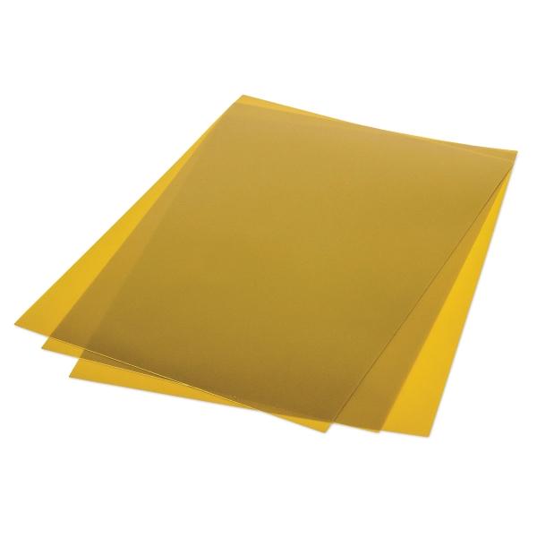 Metallic Shrink Film, 50 Sheets, Gold