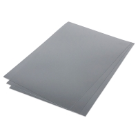 Metallic Shrink Film, 50 Sheets, Silver