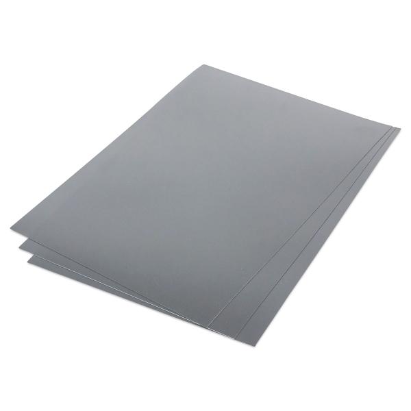 Metallic Shrink Film, 50 Sheets, Silver