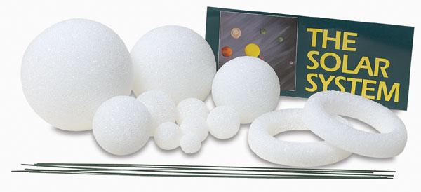 Styrofoam Solar System