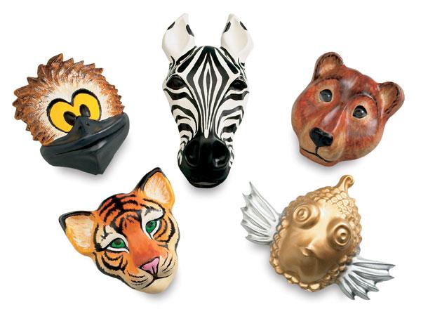 Roylco Animal Face Forms