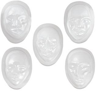 Multi-Cultural Face Forms, Pkg of 10