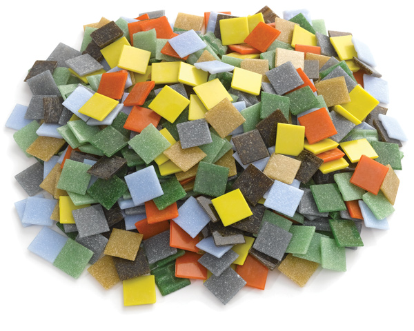 "3 lb Assortment, 3/4"" Tiles"