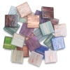 Assorted Metallic Tiles, Bag of 24
