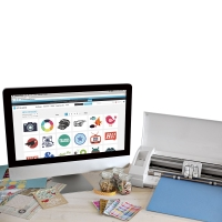 Silhouette Cameo 3 Electronic Cutting Tool, Monitor and other materials not included