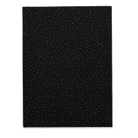 Coordinate Felt, Metallic Dots (Black w/ Small Metallic Dots)