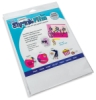 Sanded Shrink Film, 6 Sheets