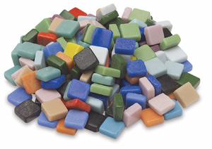 "Mosaic Assortment, 3/8"" Tiles"