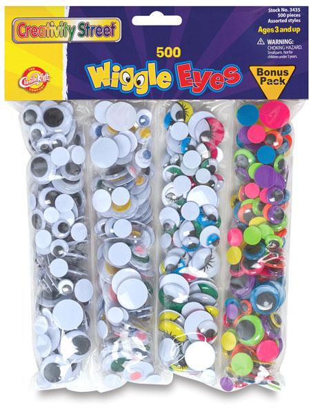 Wiggle Eyes, Pkg of 500