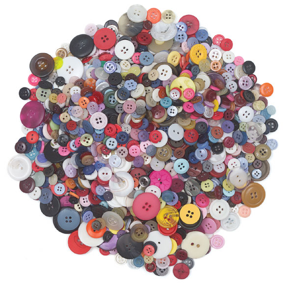 Art And Craft Using Buttons