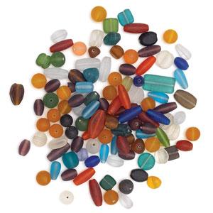 Matte Glass Bead Mix