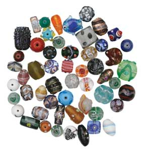 Classic Glass Trade Bead Assortment