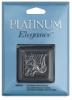 Platinum Fish Hook, Pkg of 6