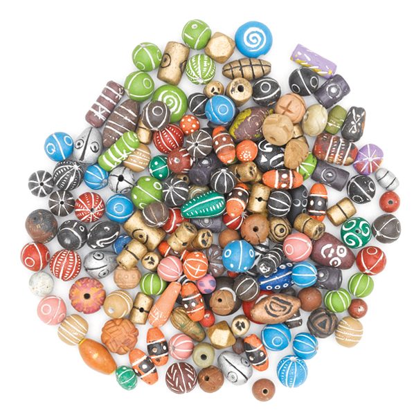 Clay Bead Assortment