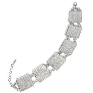 Square Metal Bracelet
