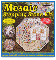 Mosaic Stepping Stone Kits
