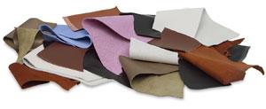 Premium Leather Remnants, 1 lb Bag