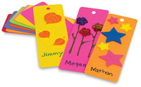 Hygloss Rainbow Brights Bookmarks